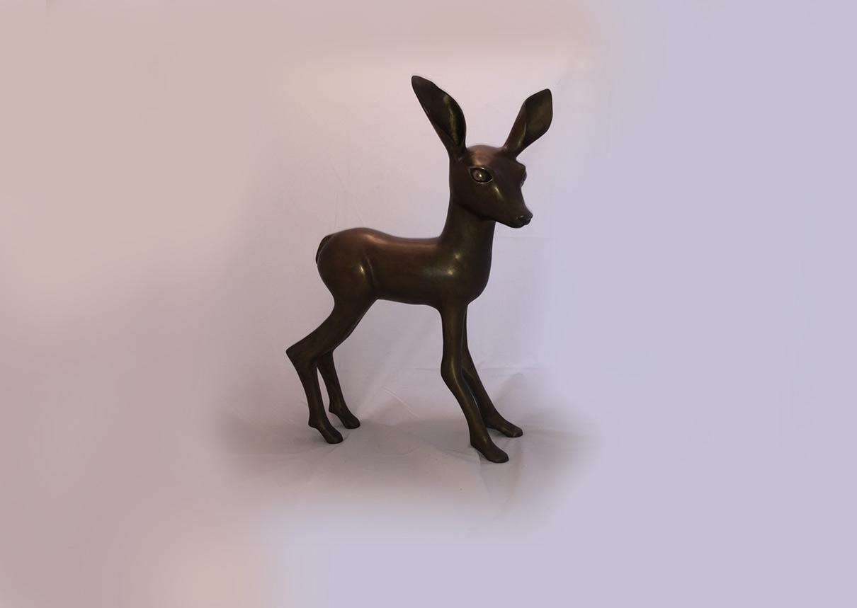 פסל ברונזה במבי